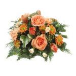 Peach and Orange Posy