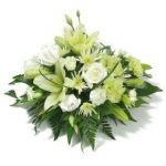 White Lily & Rose Posy