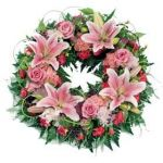 Open Wreath Pink